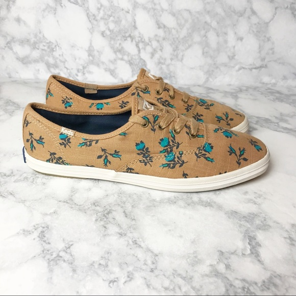 Keds Floral Classic Champion Sneakers
